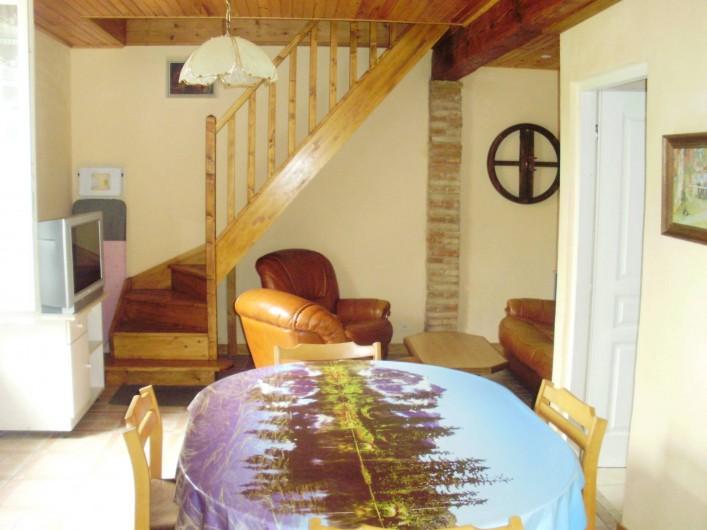 Location de vacances - Maison - Villa à Biscarrosse - sale à manger