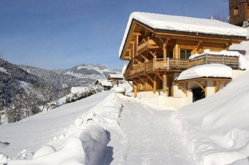 location chalet ski haut de gamme