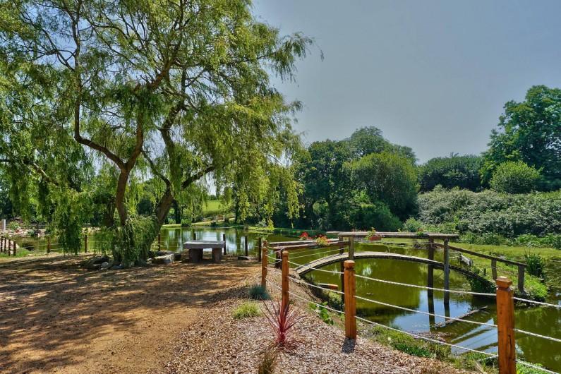 Location de vacances - Gîte à Pleubian - PARC ET PLANS eau