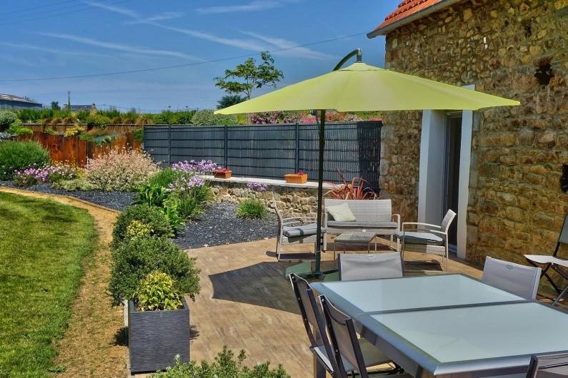 Location de vacances - Gîte à Pleubian - terrasse