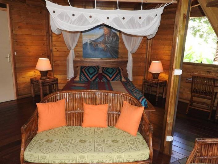 Location de vacances - Chalet à Pointe-Noire - Cabane du sentier des étoiles