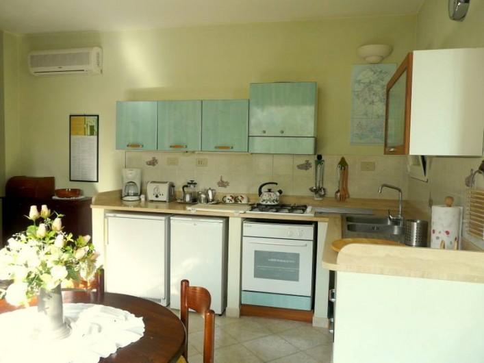 Location de vacances - Gîte à Villa Faraldi - cuisine Luciana 3