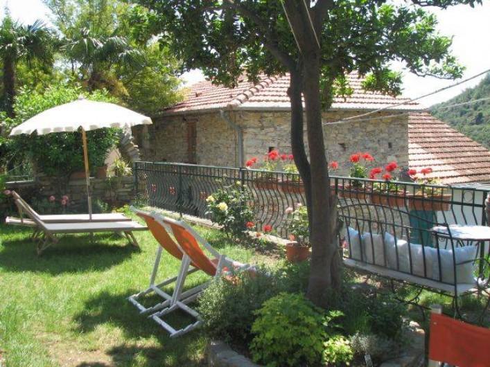 Location de vacances - Gîte à Villa Faraldi - jardin