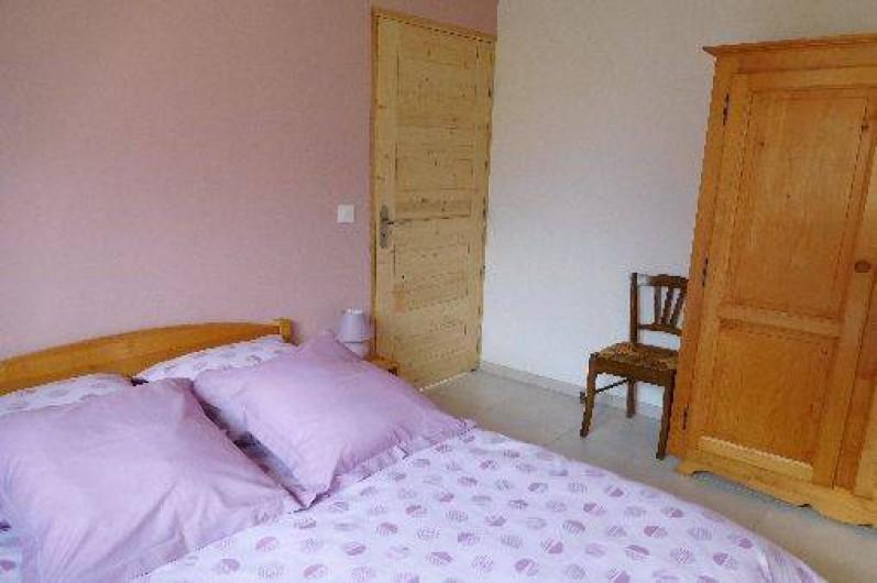 Location de vacances - Chalet à Samoëns - Chambre au rez-de-chaussée avec 1 lit 2 places