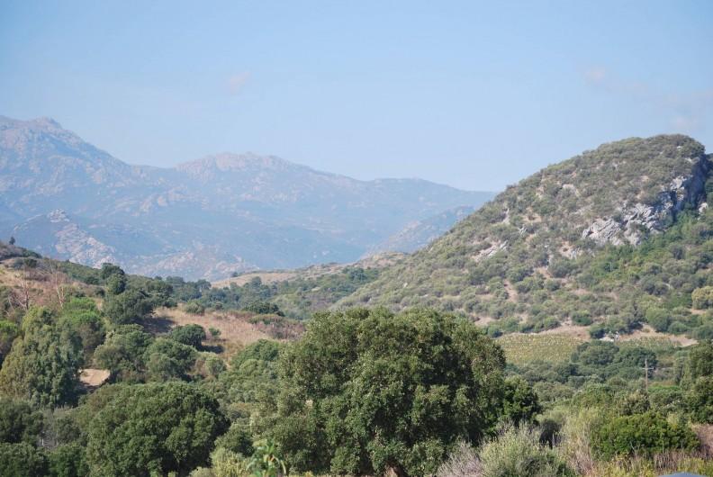 Location de vacances - Appartement à Oletta - vue de la terrasse