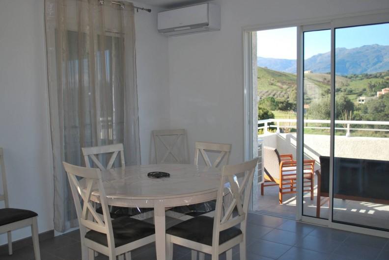 Location de vacances - Appartement à Oletta - la salle