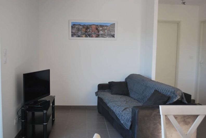Location de vacances - Appartement à Oletta - le salon