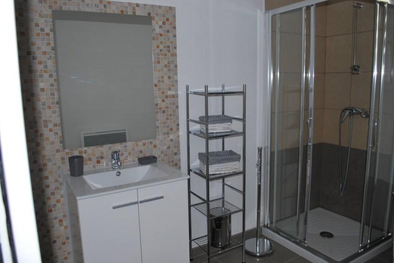 Location de vacances - Appartement à Oletta - la salle d'eau