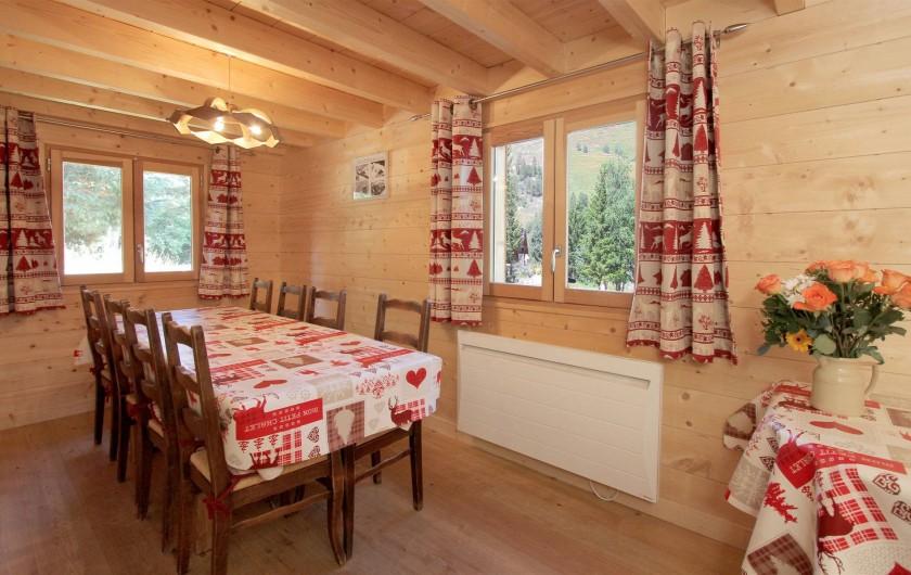 Location de vacances - Chalet à Les Deux Alpes - salle à manger