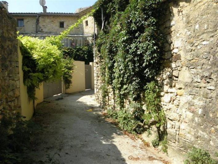 Location de vacances - Maison - Villa à Cornillon - Ruelle de Cornillon bordant la maison