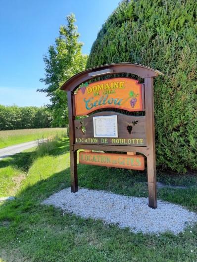 Location de vacances - Gîte à Vanzac - Arrivée chez CELLOU