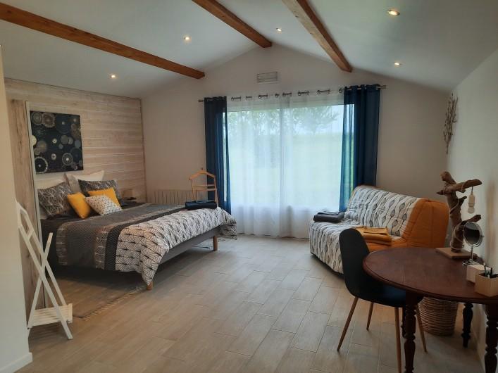 Location de vacances - Gîte à Vanzac - Vue de la chambre