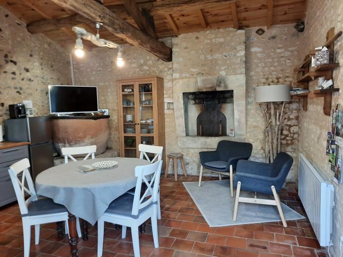 Location de vacances - Gîte à Vanzac - Le four à pain et sa ponne