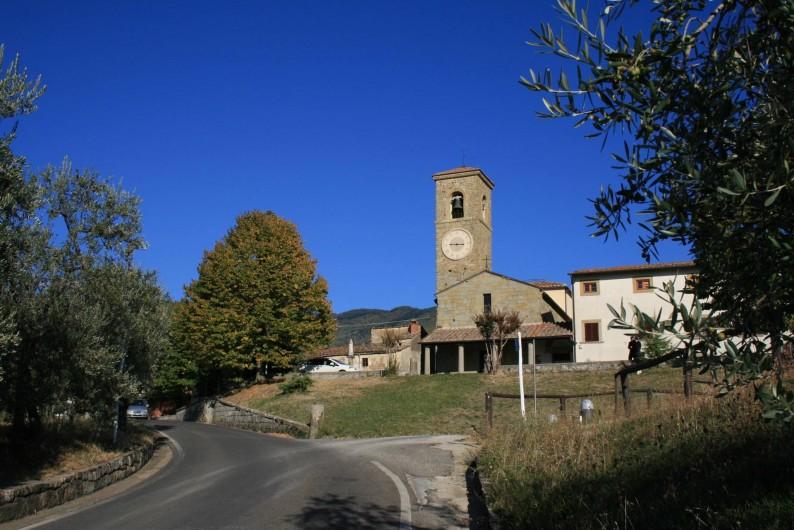 Location de vacances - Appartement à Reggello - L'église médiévale de Sant'Agata