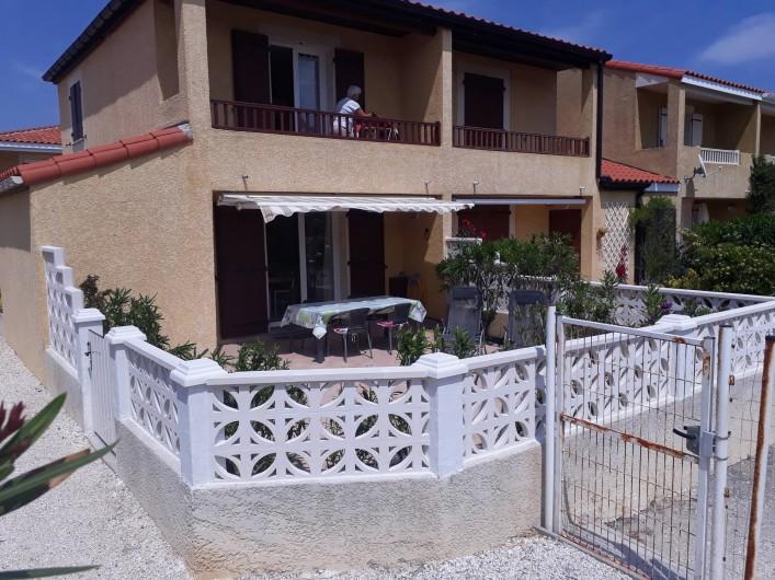 Location de vacances - Villa à Le Barcarès - Terrasse plein sud