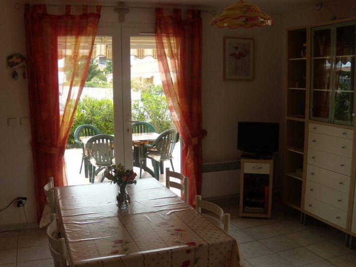 Location de vacances - Villa à Le Barcarès - Séjour