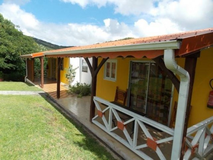 Location de vacances - Bungalow - Mobilhome à Sainte-Luce - BUNGALOW 30 DE 4 PERSONNES