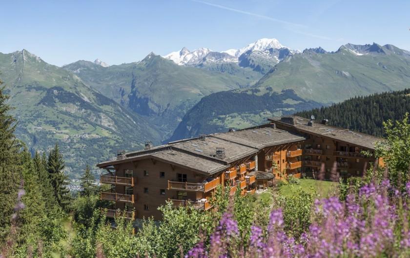 Location de vacances - Appartement à Arc 1800 - La montagne l'été, pour les sportifs et amoureux des grands espaces