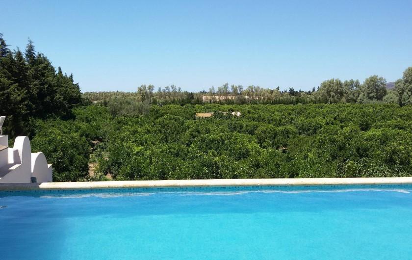 Location de vacances - Villa à Korba - Voila la huitième merveille du monde ... elle est en Tunisie .