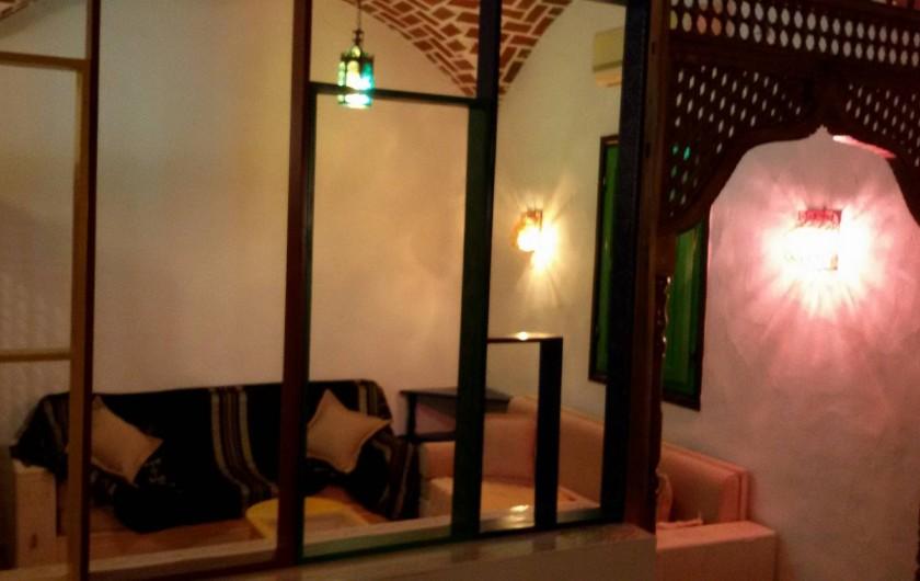 Location de vacances - Villa à Korba - le deuxiéme salon