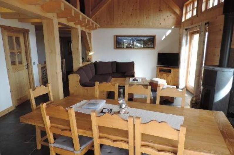 Location de vacances - Chalet à Combloux