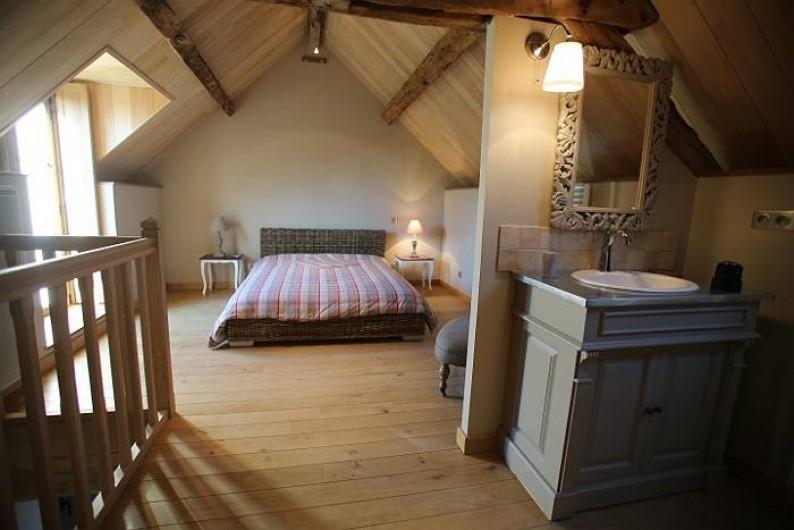 Location de vacances - Chambre d'hôtes à Mulsans - Chambre Travertin