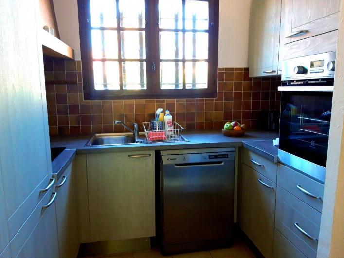 Location de vacances - Villa à Sainte-Maxime - la cuisine