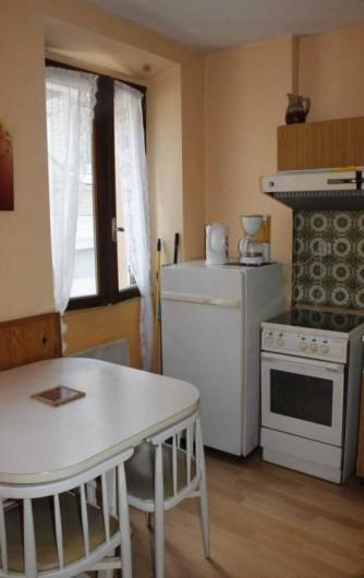 Location de vacances - Appartement à Cauterets - appartement 1 : coin repas