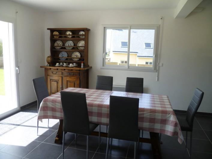 Location de vacances - Maison - Villa à Camaret-sur-Mer - salle à manger