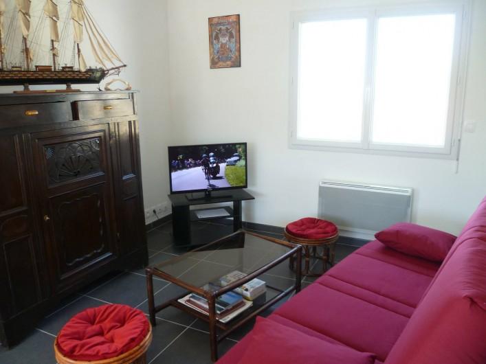 Location de vacances - Maison - Villa à Camaret-sur-Mer - salon