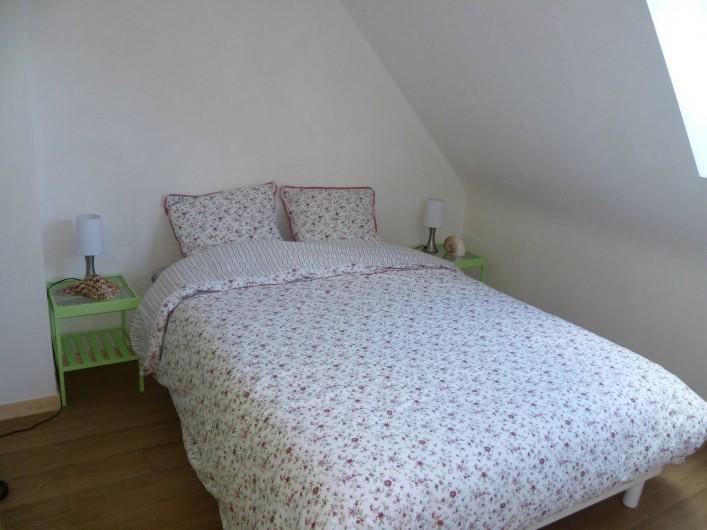 Location de vacances - Maison - Villa à Camaret-sur-Mer - chambre lit 140x190