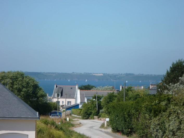 Location de vacances - Maison - Villa à Camaret-sur-Mer - petite vue mer