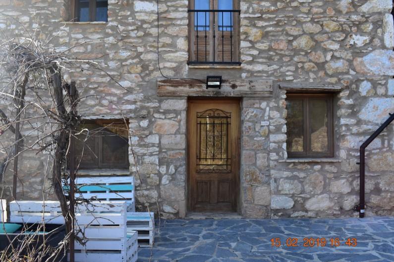 Location de vacances - Mas à Atzeneta del Maestrat - Facade en hiver