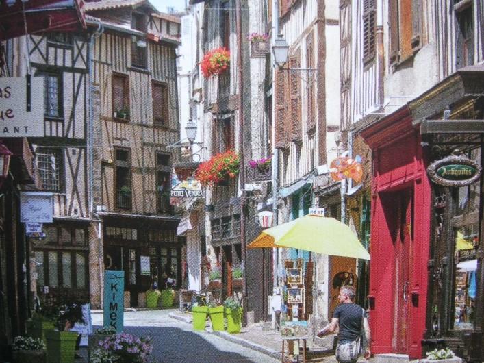 Location de vacances - Appartement à Verneuil-sur-Vienne - Quartier typique du vieux Limoges