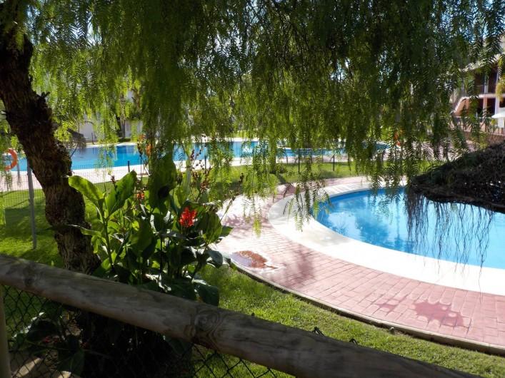 Location de vacances - Appartement à La Cala de Mijas - Le petit bassin