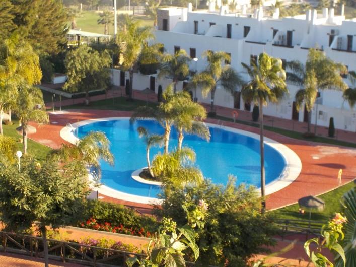 Location de vacances - Appartement à La Cala de Mijas - Vue de la terrasse
