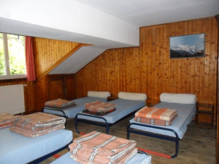 Location de vacances - Chalet à Vallorcine