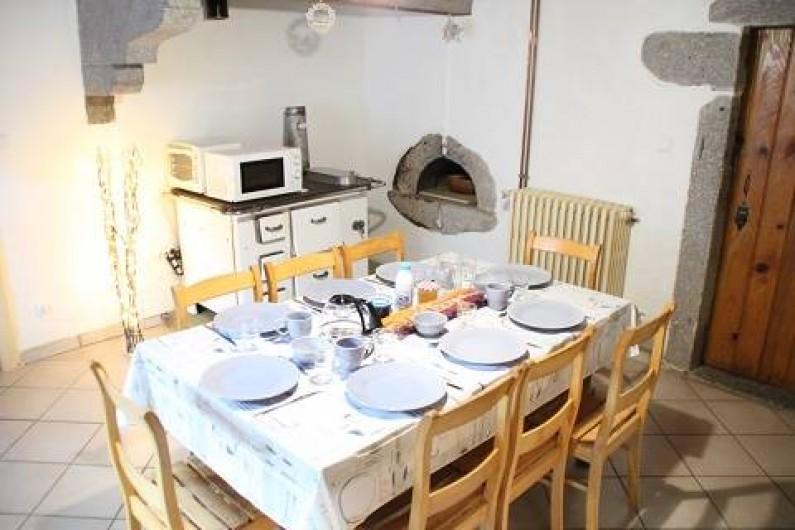 Location de vacances - Gîte à Rochesson - Cuisine 2 Bistrot