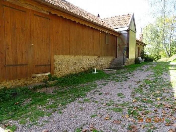 Location de vacances - Gîte à Rochesson - Entrée Chalet