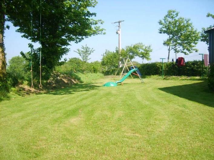 Location de vacances - Gîte à Calanhel - Espace détente et jeux enfants