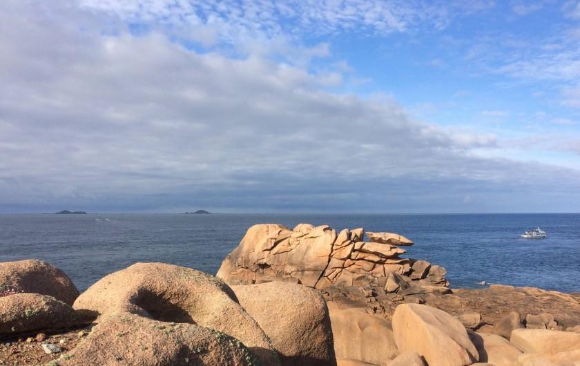 Location de vacances - Villa à Perros-Guirec - L'une des plus belles côtes de Bretagne...