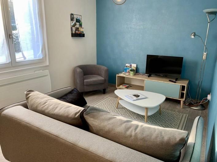 Location de vacances - Appartement à Labaroche - la partie salon permettant de se détendre