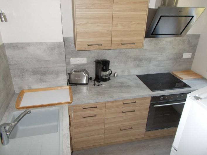 Location de vacances - Appartement à Labaroche - la cuisine tout équipée