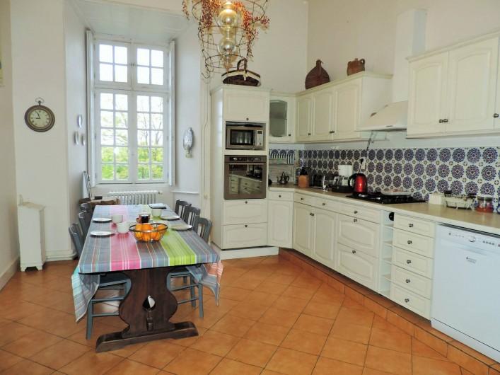 Location de vacances - Château - Manoir à Montreuil-Bonnin - Cuisine