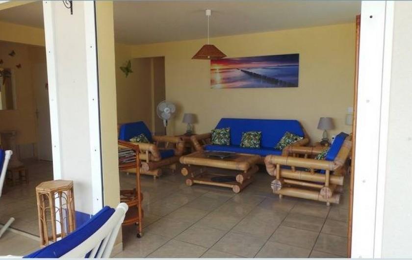 Location de vacances - Villa à Deshaies - le salon