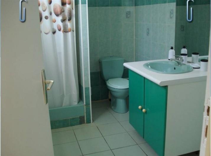 Location de vacances - Villa à Deshaies - une salle de douche