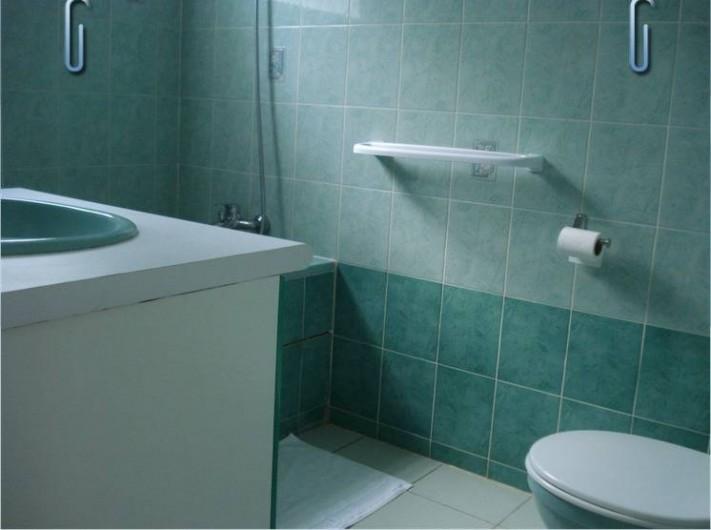 Location de vacances - Villa à Deshaies - la salle de bain