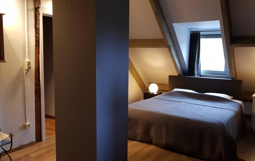 Location de vacances - Villa à Achet - Chb 1 Lit dbl 2 matelas 90x200