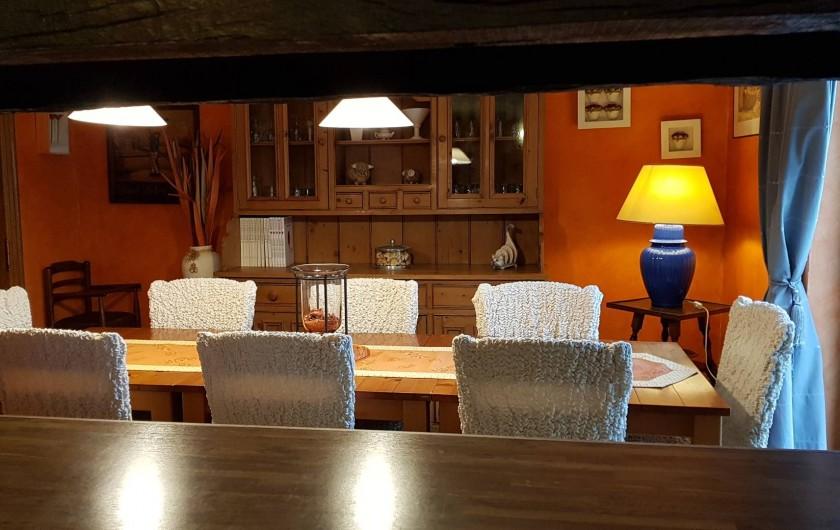 Location de vacances - Villa à Achet - Cuisine avec coin à manger