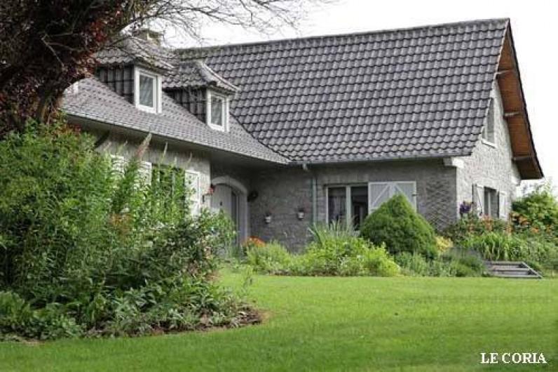 Location de vacances - Villa à Achet - Entrée de la maison
